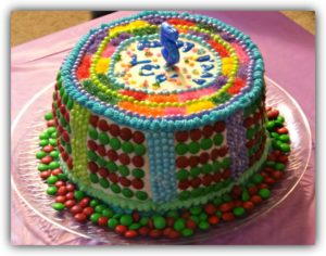 colors cake Autism cakes